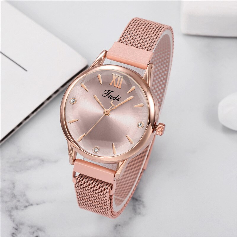 Ladies Magnet Buckle Gradient Color Watch Ladies Luxury Quartz Analog Watch Relogio Feminino Gift Cl