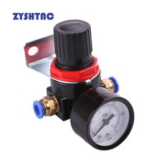 AR2000 G1/4'' AR2000-02 Pneumatic Mini Air Pressure Relief Control Compressor Regulator Treatment Units Valve Gauge Fitting