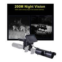 night vision device hunting camera for riflescope airsoft hunting scopes sight led ir night vision hunting device