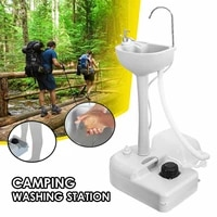 mobile garden camping sink basin hand wash sink portable hand washing station for camping outdoor activities washing table
