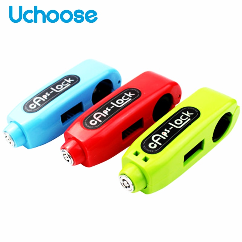 universal motorcycle lock scooter handlebar safety lock brake throttle grip anti theft protection security locks high quality Motorcycle Handlebar Lock Universal Scooter Safety Lockstitch Brake Throttle Grip Anti Theft Protection Security Mini Lock