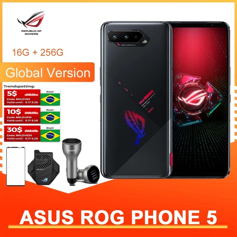 Asus ROG 5 5G Global Version 12/16G Gaming Phone 6.78