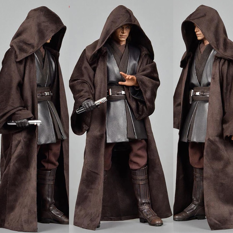 1/6th manto de gabardina abrigo Anakin Skywalker ropa Fit 12