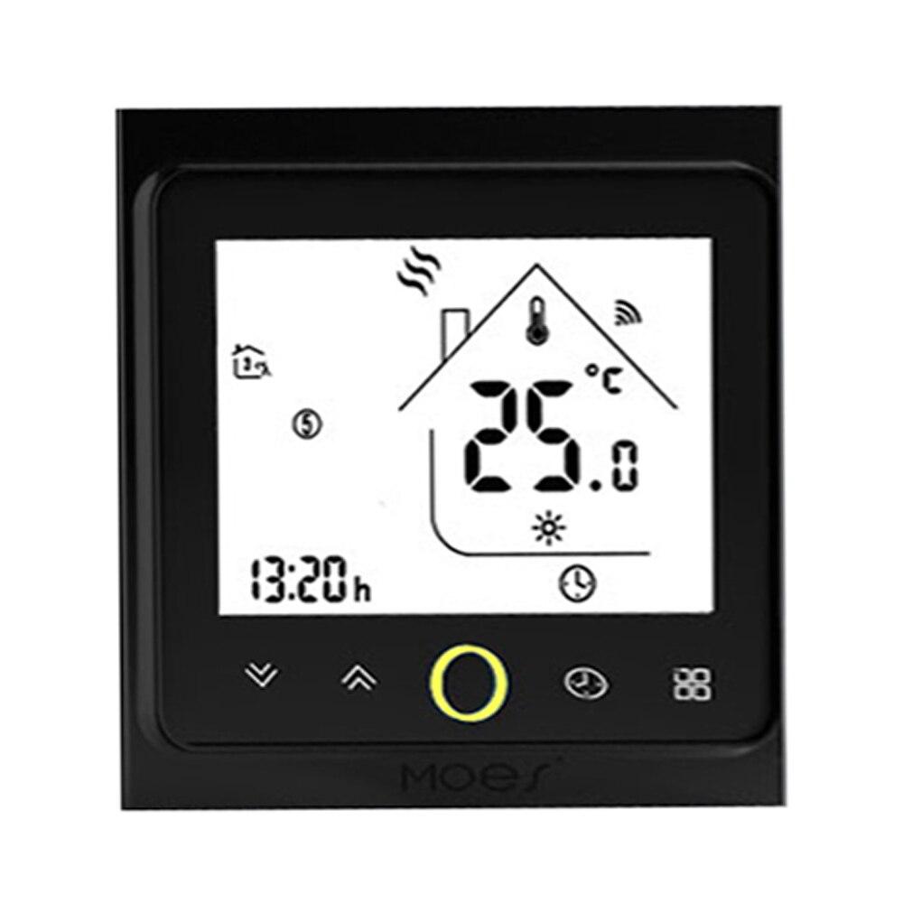ZigBee-وحدة تحكم في درجة الحرارة الذكية القابلة للبرمجة ، ترموستات متوافق مع تطبيق Tuya ، جهاز التحكم عن بعد Alexa Google