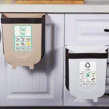 9L pliable poubelle cuisine poubelle voiture pliante poubelle murale poubelle pour salle de bain poubelle WJ120720