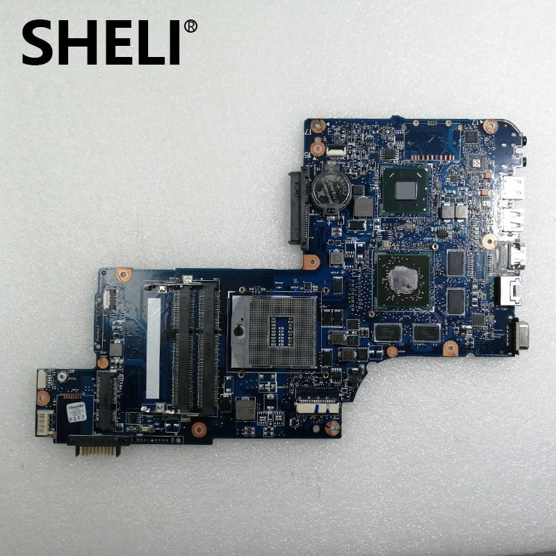 SHELI H000052840 الرئيسي مجلس لتوشيبا C870 L870 L875 اللوحة المحمول PGA988B SLJ8E HM76 HD7610M DDR3 جناح
