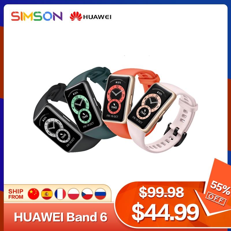 Huawei Band 6 Smartband Blood Oxygen 1.47'' AMOLED Screen Heart Rate Tracker Sleep monitoring Smartband
