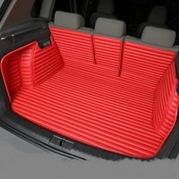 full covered waterproof boot carpets durable custom car trunk mats for mercedes benz r300 r320 r350 r400 glk300 e300l e260