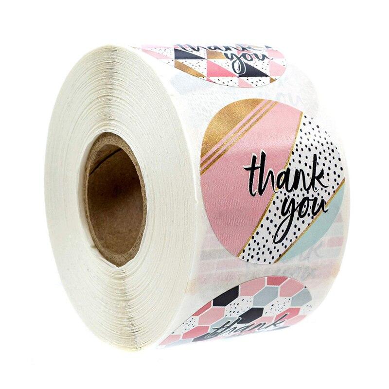 etichette-rotolo-fiore-grazie-adesivi-scrapbooking-per-decorazione-regalo-adesivo-di-cancelleria-etichetta-sigillo-adesivo-fatto-a-mano