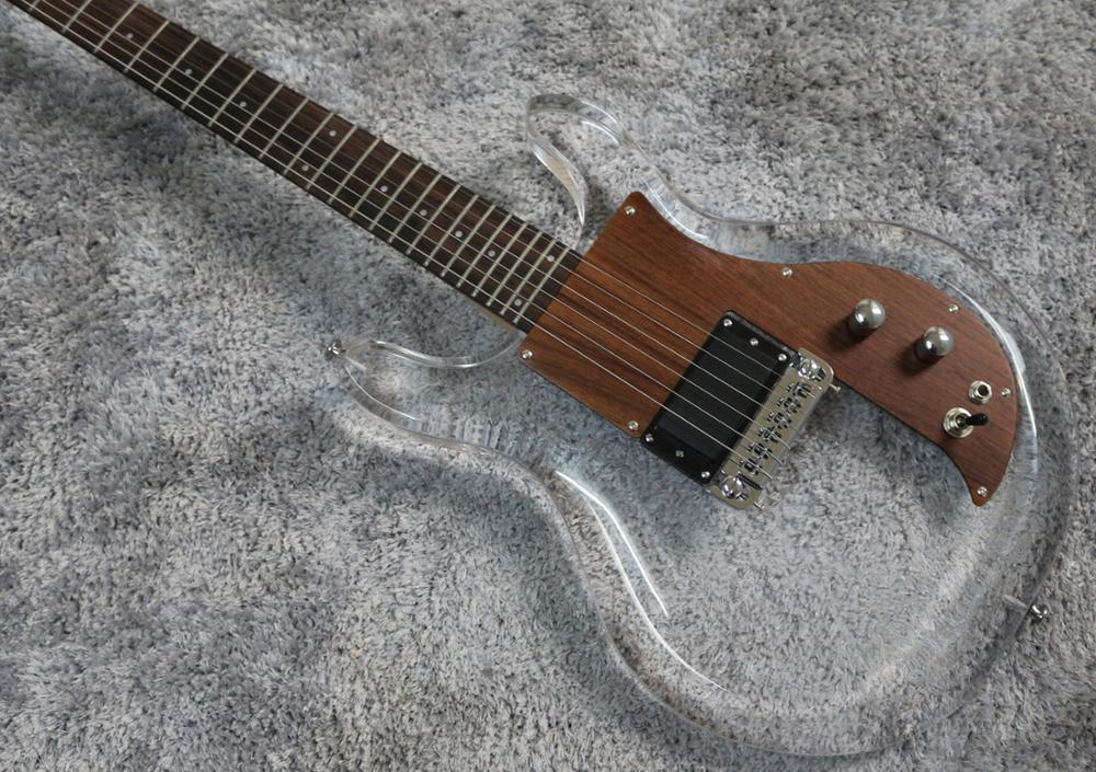 Good quality acrylic electric guitar free shipping enlarge