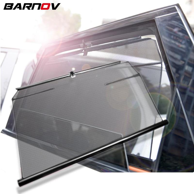 Para mercedes-benz s classe w126 w140 janela lateral especial do carro de levantamento automático pára-sol isolamento protetor solar telescópica cortinas