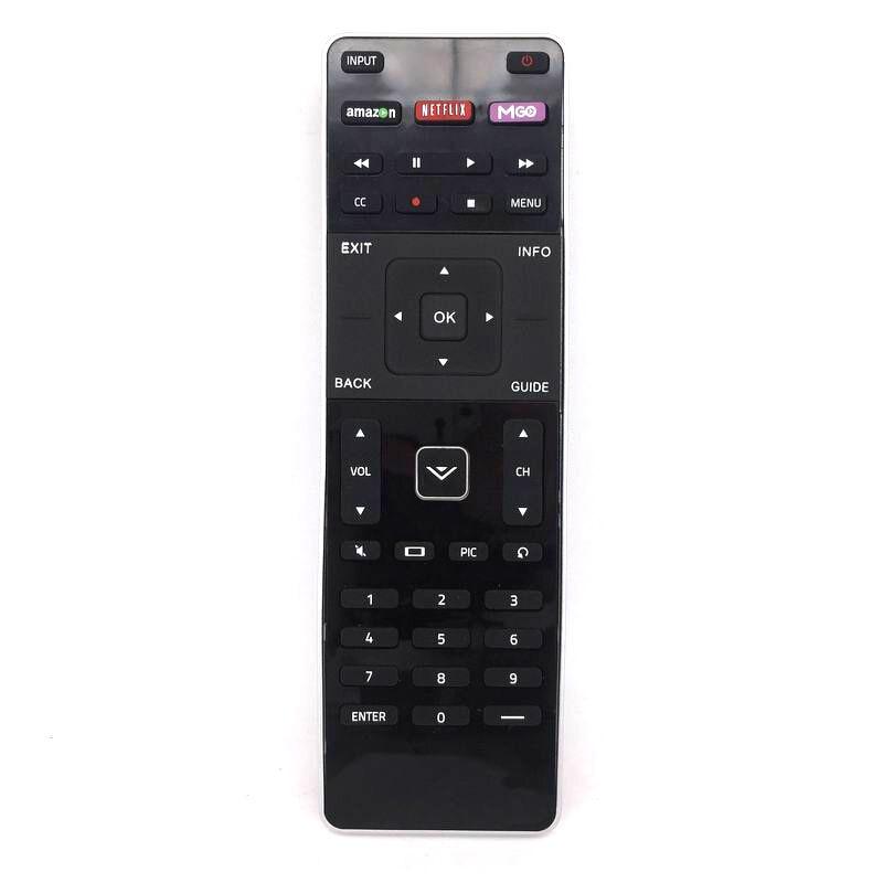 XRT500 for VIZIO LED TV Remote Control with QWERTY Keyboard Fernbedienung