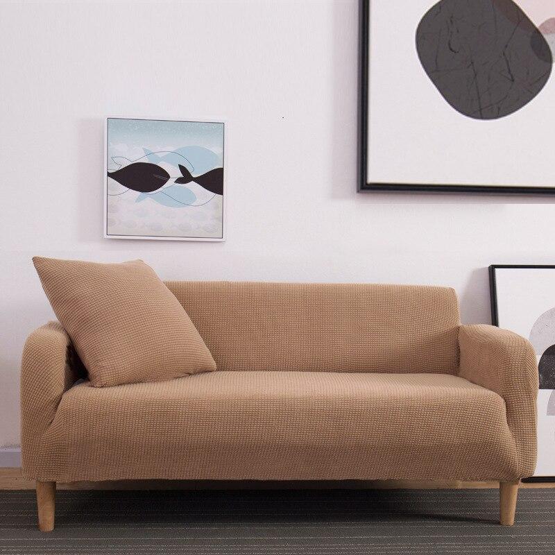 Beesali تمتد شعرية أريكة غطاء أريكة غرفة المعيشة تمتد ديكور المنزل 1/2/3/4 مقعد سماكة غطاء أريكة غرفة المعيشة أريكة