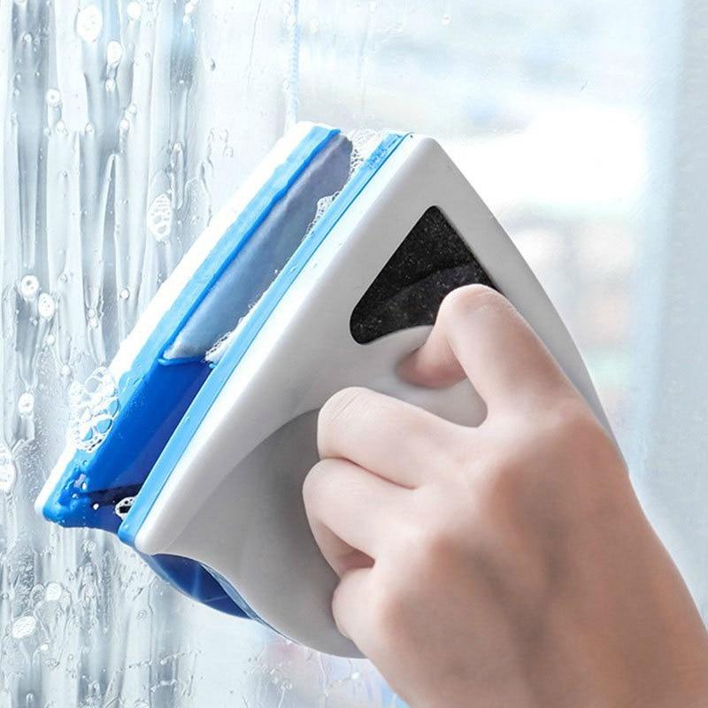 Limpiador de ventana magnética de doble cara para el hogar, limpiacristales de doble capa, DJ60WC