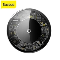 baseus 10w qi wireless charger for iphone xxs max xr 8 plus fast charger 3 0 wireless charging pad for samsung s9 s10 note 9 8