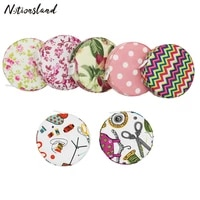 150cm60inch tape measure portable retractable ruler fabric covered craft tailor ruler measuring tape sewing tools accessories