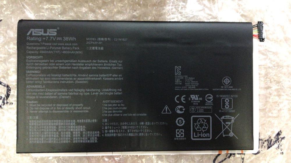Nueva batería genuina para ASUS Chromebook Flip C101PA C21N1627 7,7 V 4940mAh