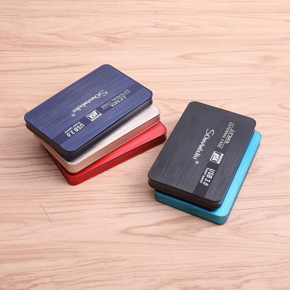 External Hard Drive 2.5 Portable Hard Drive HD Externo 1 TB 2 TB USB3.0 storage, suitable for, PS4, PC, Mac, Xbox