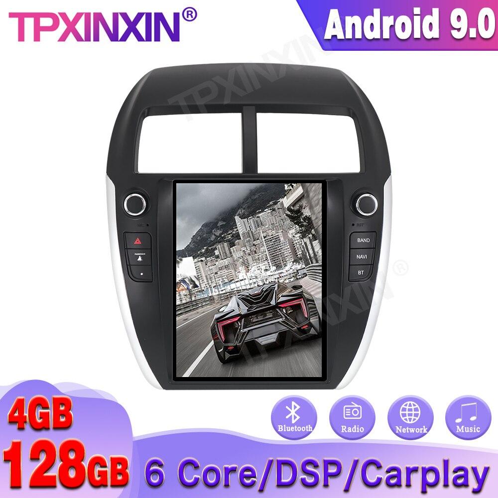 Reproductor Multimedia para MITSUBISHI ASX RVR Outlander 128G, Android 9,0, GPS para...