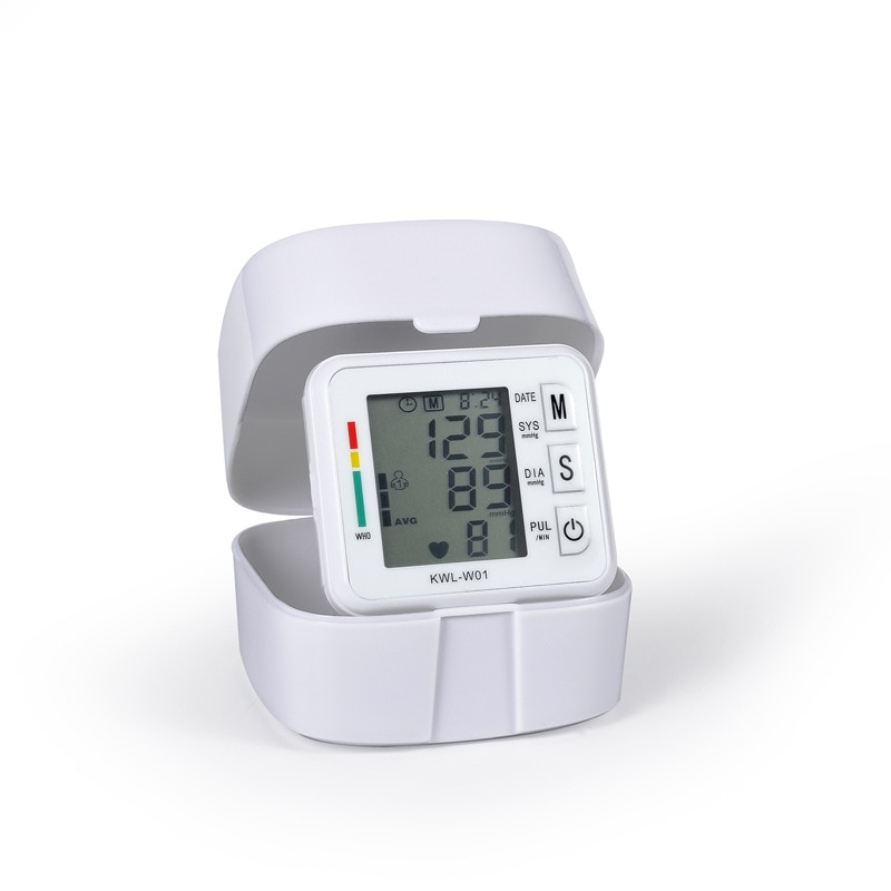 VILECO Household automatic wrist digital LED display electronic Blood Pressure Monitor Cuff Sphygmomanometer Health Care BP