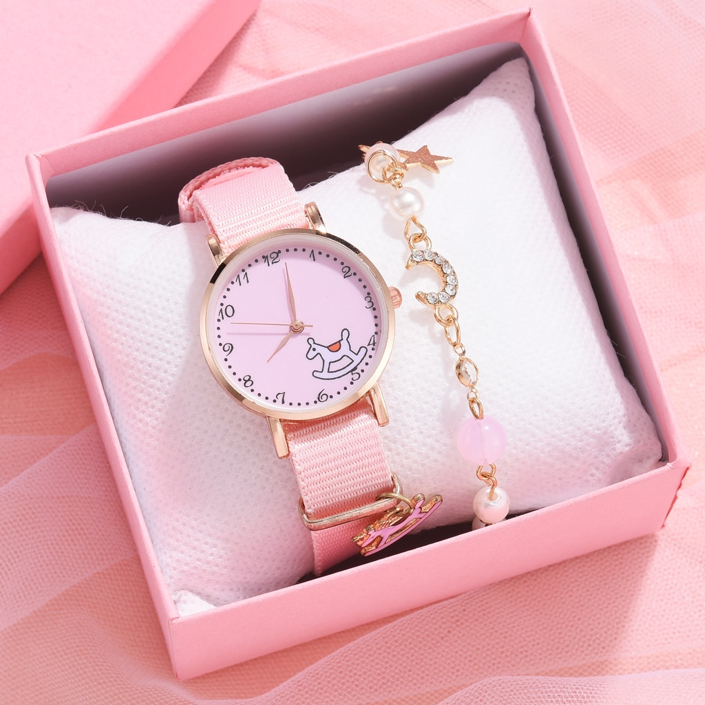 2021 NEW Watch Women Cotton Fashion Casual Watches Simple Ladies Small Dial Quartz Clock Dress Girl Wristwatches  Reloj mujer