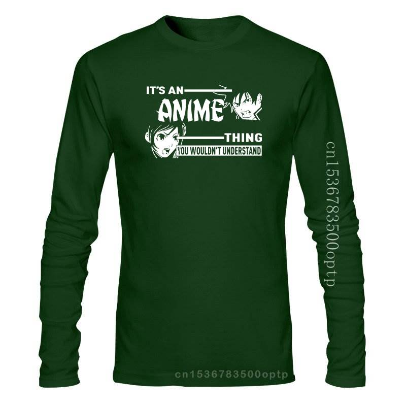 New Cool Trendy Manga It`s An Anime Thing You Wouldnt Understand T-Shirt Gift S-3XL Tops Men T Shirt 2021 2021est Fashion