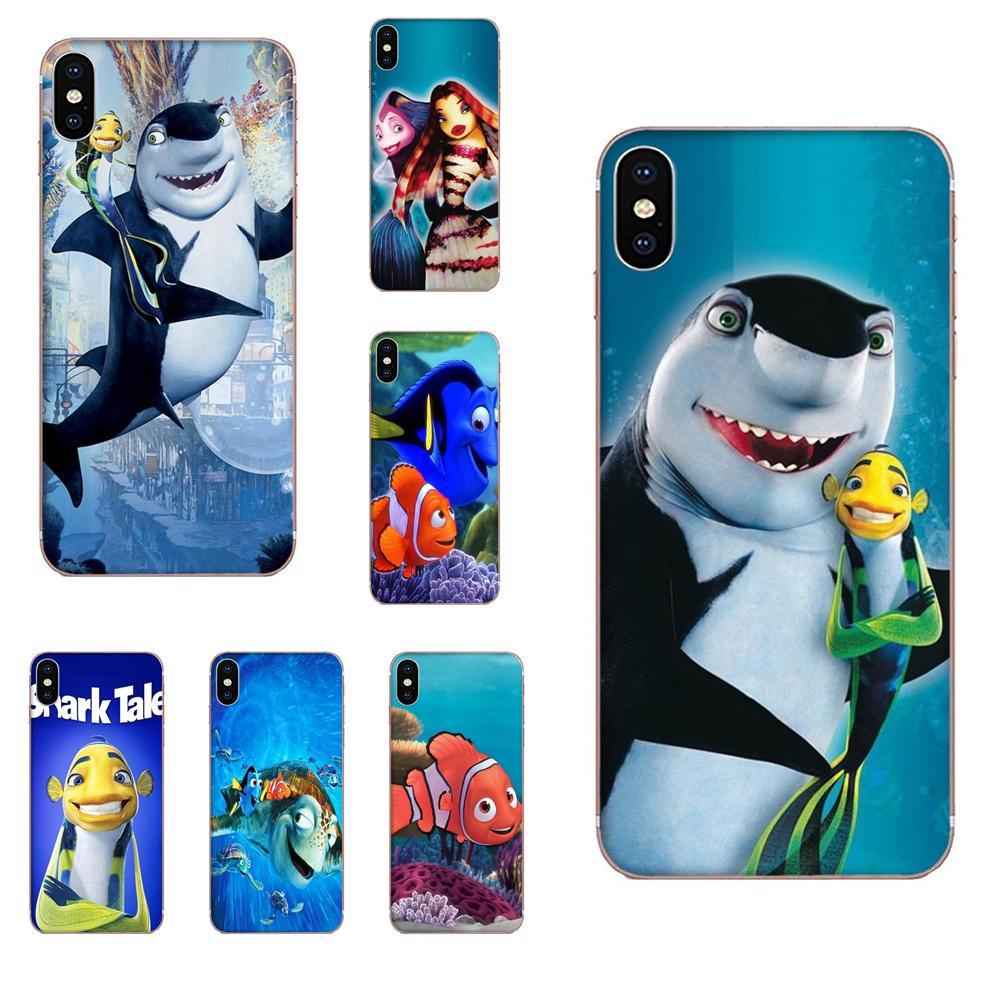 Funda de silicona Shark Tale Nemo para Xiaomi Redmi 3 3S 4 4A 4X 5 6 6A 7 K20 Note 2 3 4 5 5A 6 7 Plus Pro