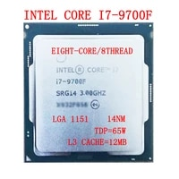 intel core i7 9700f processor 12m cache up to 4 70 ghz tdp 65w14nmlga1151 8 core 8 thread i7 9700f desktop cpu