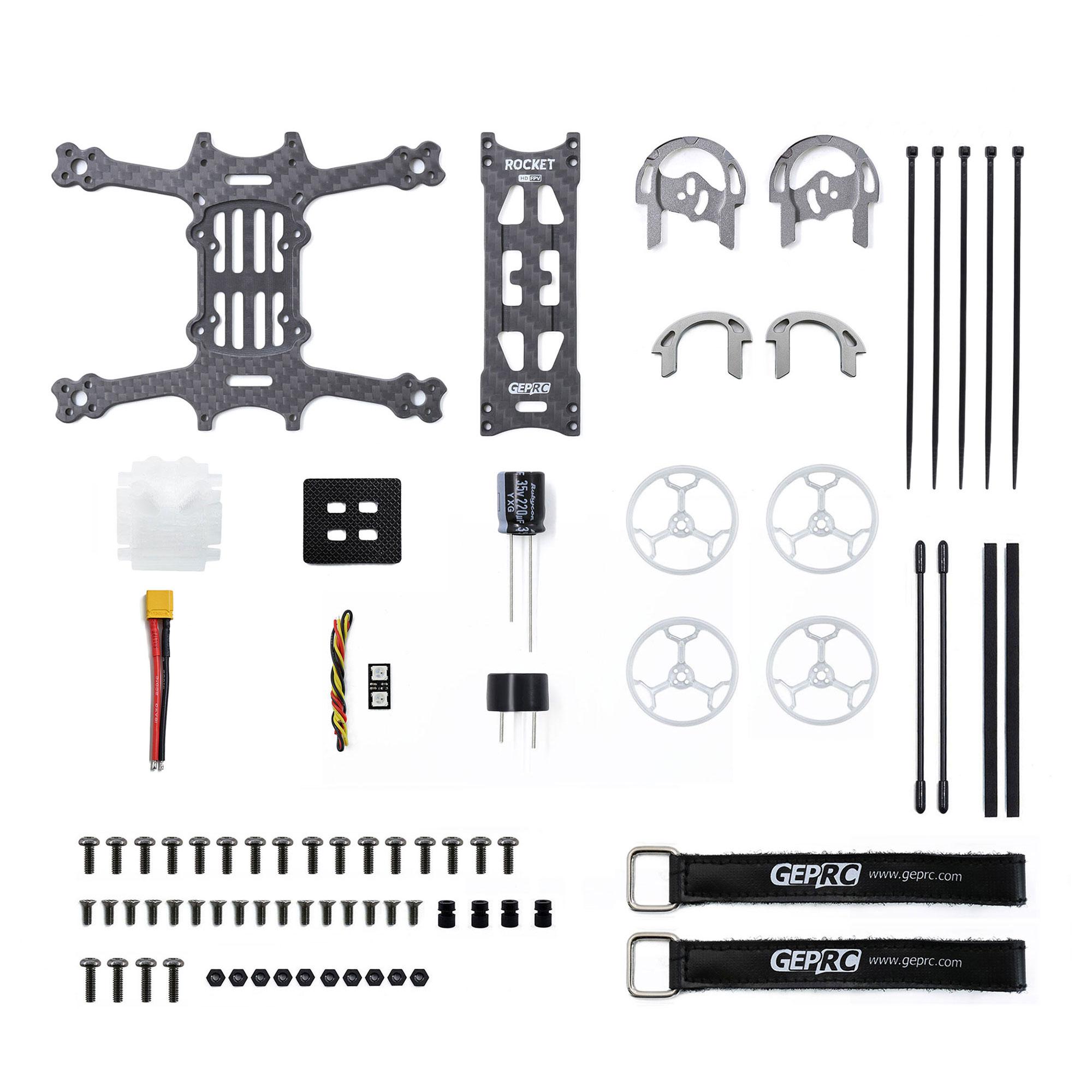 GEPRC GEP-RP RL Frame Parts