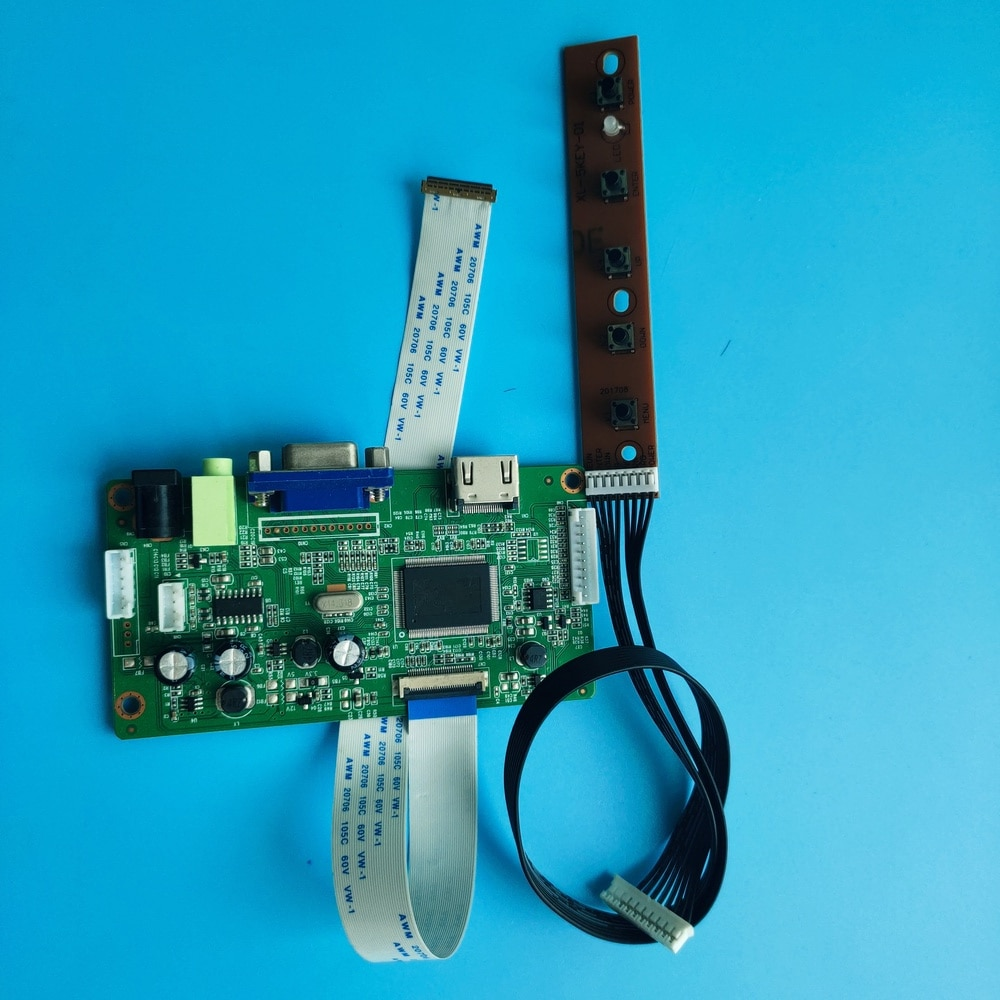 ل NV140FHM-N4A عدة VGA EDP LED EDP 1920 × 1080 رصد سائق تحكم مجلس LCD لتقوم بها بنفسك 14