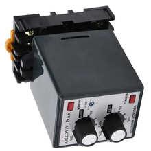 Protector de sobretensión, bajo voltaje, relé de monitoreo de potencia monofásico, relé de monitoreo de potencia ajustable de 220V