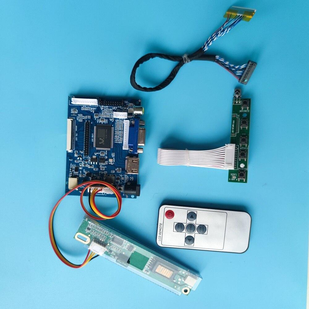 لوحة تحكم لـ QD15TL07 1280x800 ، 30 دبوس ، HDMI ، VGA ، مراقب 2AV ، DIY ، LVDS LCD ، جهاز تحكم عن بعد AV