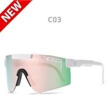 Pit Viper Mens Polarized Sunglasses UV400 Blue Film Anti-glare glasses Fashion Magnesium Aluminum Fr