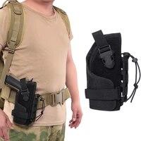 universal tactical gun holster molle belt pistol holster beretta revolver glock 92 waist pouch hunting shooting handgun holder