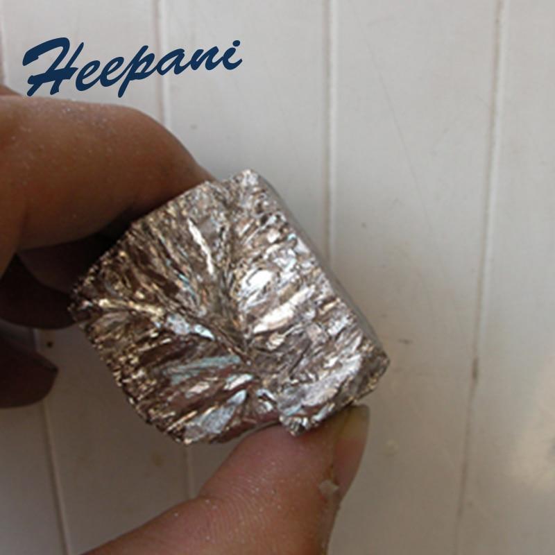 Бесплатная доставка висмута металла 4N Bi с 99.99% чистоты висмут в слитках/блок Кристалл висмута научно-исследовательских