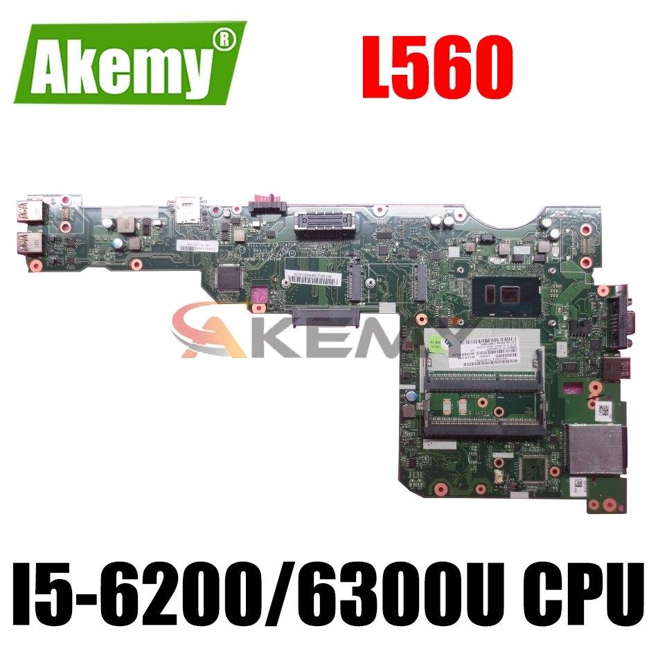 لينوفو ثينك باد L560 اللوحة المحمول AILL1/L2 LA-C421P مع I5-6200/6300U CPU DDR3 FRU:01LV948 00UR185 00UR712 01LV952