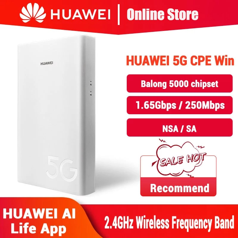 New Huawei 5G CPE Win H312-371 Wireless Router