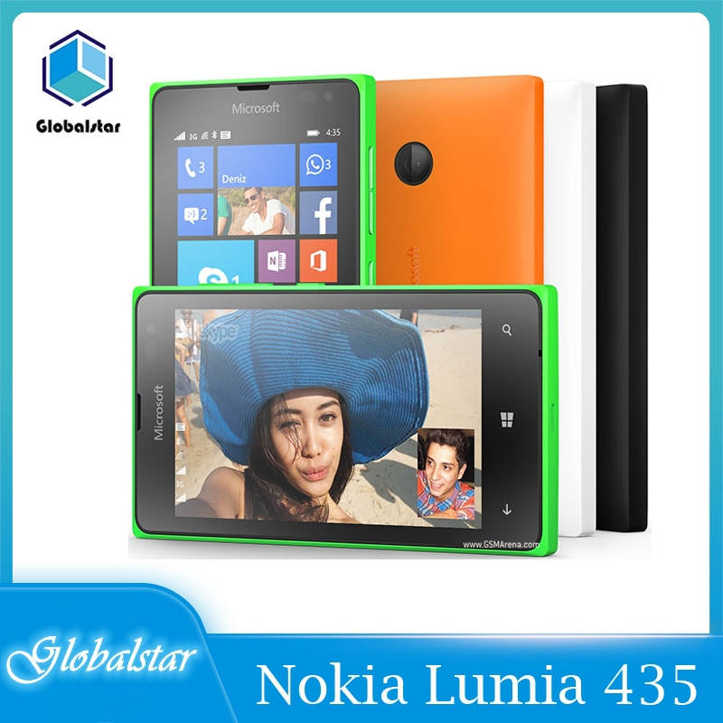 Nokia Lumia 435 reacondicionado Original Lumia 435 de Windows Phone 4,0
