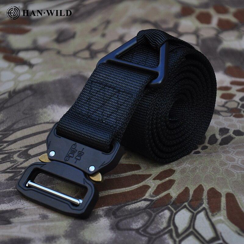 Cinturón Cobra, cinturón táctico ajustable de nailon suave, cinturón táctico de tiro multifunción para exteriores, cinturón de entrenamiento deportivo para caza