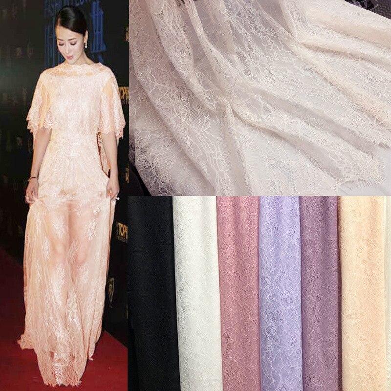 150x150cm tela de encaje africano 2019 ropa de encaje de alta calidad tela de encaje ligero vestido francés boda bordado tela