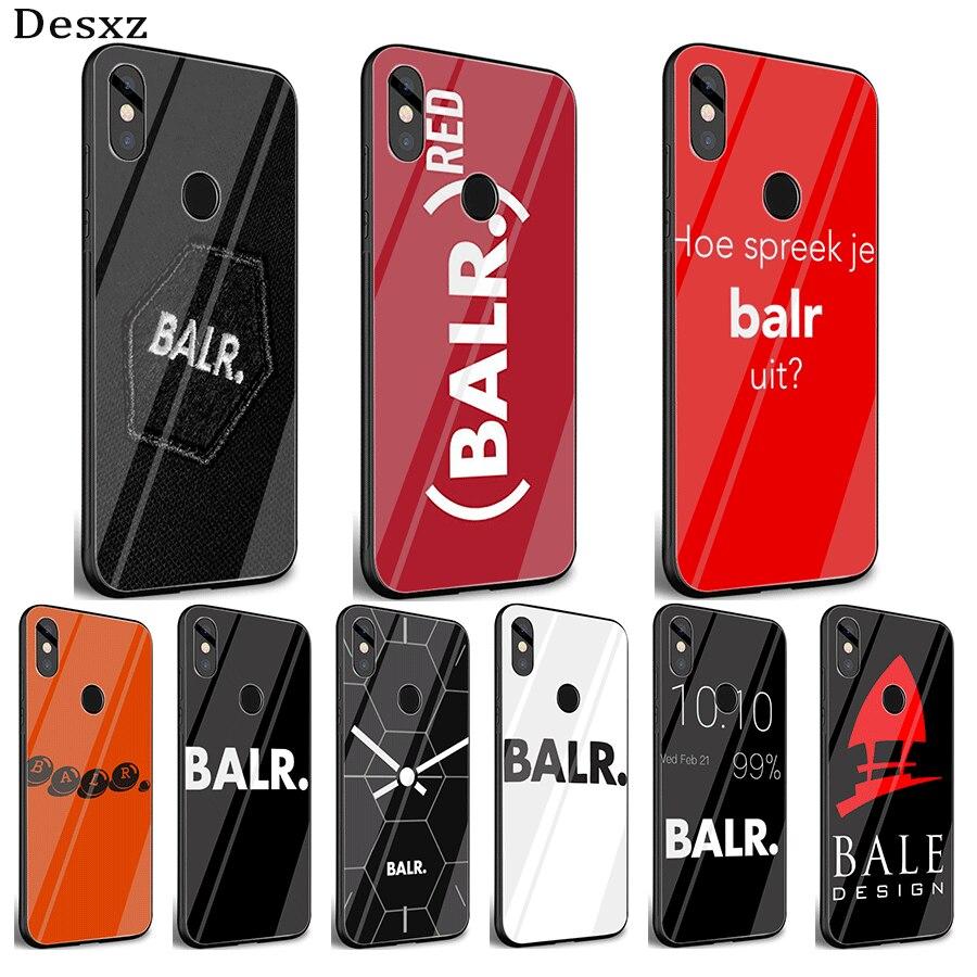 Caja del teléfono móvil de cristal para Xiaomi nota F1 A1 A2 4X 5X 6X 9 5 5 5 6 6 7 Pro BALR Shell