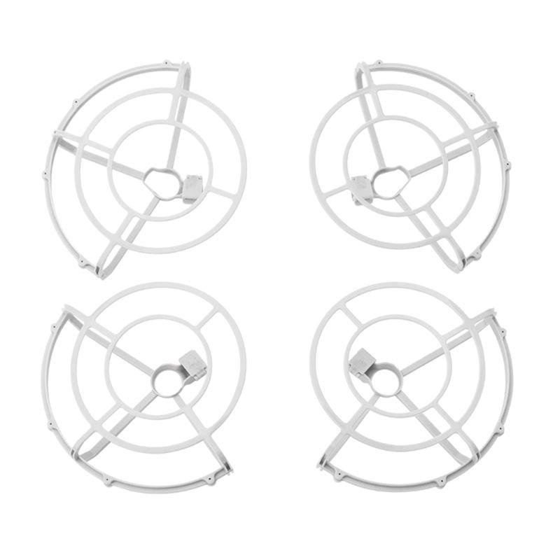 1 conjunto de hélices liberação rápida guarda capa protetora paddle anel adereços para dji mavic mini drone protetor acessório