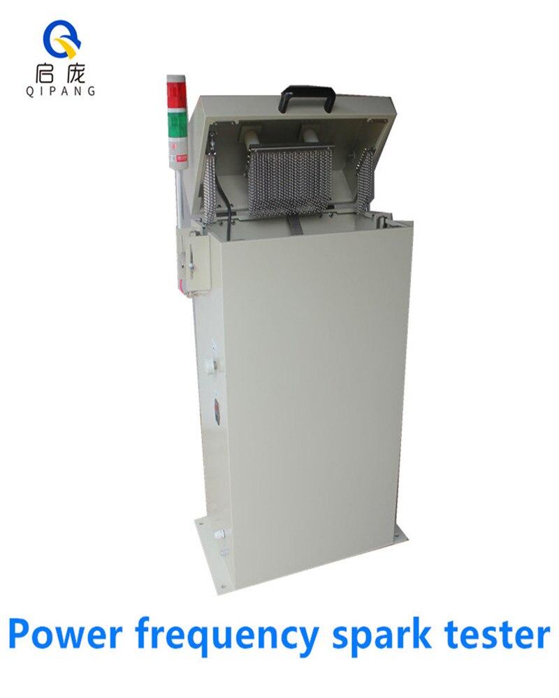 Probador de chispa de la versión de QIPANG GS-15A/25ALatest para la máquina de chispa de la frecuencia de la energía del probador de la envoltura del aislamiento del cable de cabland y del cable