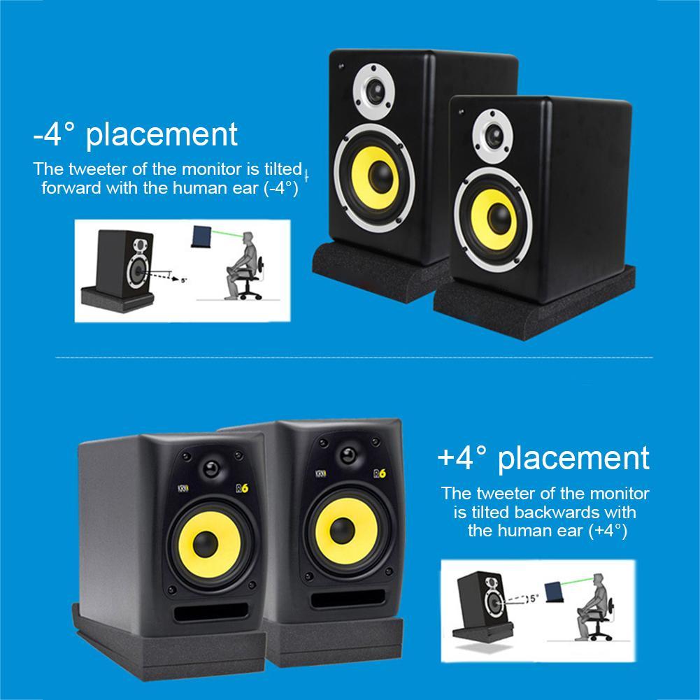 5 Inch 2pcs Sponge Studio Monitor Speaker Acoustic Isolation Foam Isolator Pads Random Color Sealing Strips Aliexpress