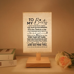 To My Bestie The One Who Needs You Till The End Send Reading Lights, Booklights. He Will Continue Beautiful Gift
