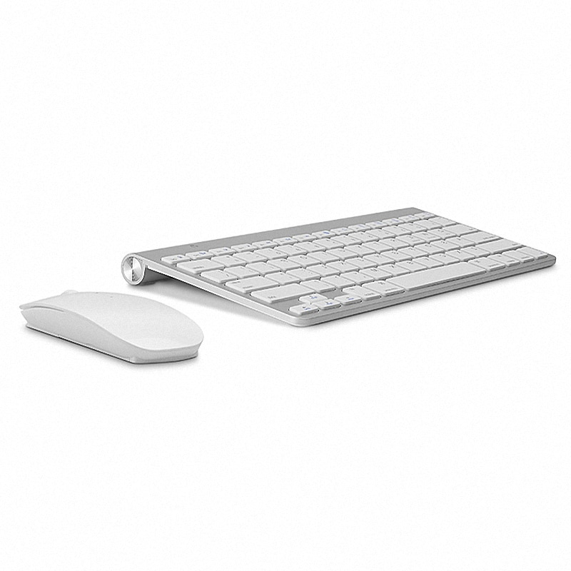 Russian English letter 2.4G Wireless keyboard mouse combo with USB Receiver for Desktop,Computer PC,
