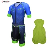 darevie cycling suit 2021 summer men breathable soft anti slip pro team quick drying sponge pad high quality bicycle sets