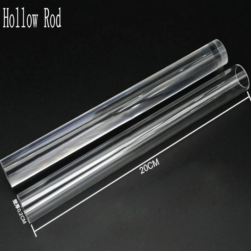 Hollow Rod Magic Wand Tube Shaker Tubes Stuff Jewelry Fillings Pendant Accessories DIY Charms Handmade Epoxy Resin Tool Craft