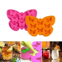 3d silicone mold butterfly silicone tray mold candy soap cookies decor baking mould ice cube baking kitchen supplie accessories