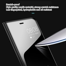 Mirror Flip Case For Samsung Galaxy S8 S9 S10 Plus A7 A8 A6 J6 J4 Plus J8 2018 S7 Edge A5 J5 J3 J7 2017 Note 9 8 A30 A50 Cover.